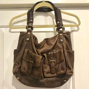Kenneth Cole New York genuine leather handbag